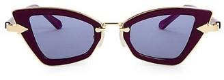 Karen Walker 46MM Angular Cat Eye Sunglasses
