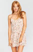 MUMU Victoria Mini Dress ~ Daisy Duke Floral Pebble