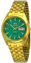 Orient #FAB00001N Men's 3 Star Standard Gold Tone Dial Automatic Watch