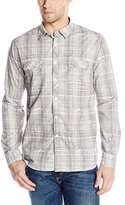 Ecko Unlimited M.O.D Miracle Of Denim Men's Washed Poplin Woven Shirt