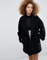Helene Berman Tessa Coat in Classic Black