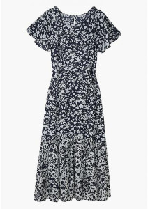 Lily & Lionel Rae Dress Blossom Navy - xsmall