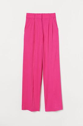 H&M Wide-leg Suit Pants