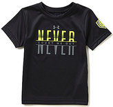 Under Armour Little Boys 2T-7 Never Count Me Out Short-Sleeve Tee