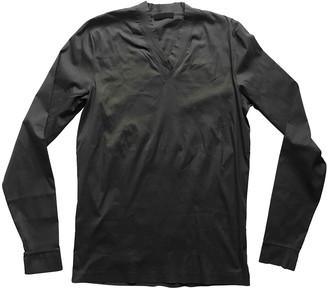 Prada Anthracite Cotton T-shirts