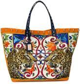 Dolce & Gabbana Beatrice animal print tote