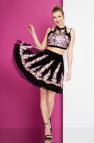 Terani Couture 1721H4513 Two Piece Floral A-line Dress