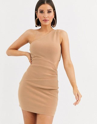 Bec & Bridge elke mini one shoulder dress