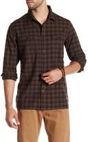RVCA Archy Regular Fit Windowpane Shirt
