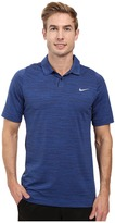 Tiger Woods Golf Apparel by Nike Nike Golf Vl Max Swing Knit Heather Men's Short Sleeve Pullover