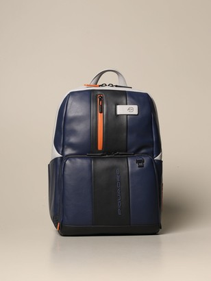 Piquadro Backpack For Pc And Ipad, Customizable With Anti-theft And Anti-fraud Protection
