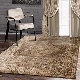Santorini A2Z Rug Vintage Traditional Collection Blue 80x300 cm - 2x10 ft Area Rugs
