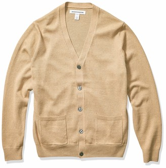 Amazon Essentials Men's Cotton Cardigan