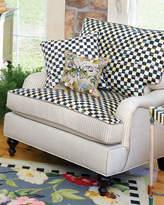 Mackenzie Childs MacKenzie-Childs Underpinnings Striped/Checks Lounge Chair