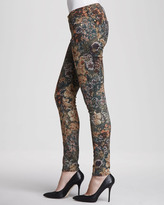 7 For All Mankind The Skinny Jeans, Digital Tapestry
