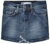 Levi's Blue Denim Skirt with Contrast Pocket
