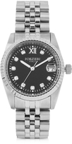Forzieri Trevi Silver Tone Stainless Steel Women's Watch