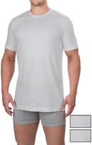 Izod Cotton Crew T-Shirts - 3-Pack, Short Sleeve (For Men)