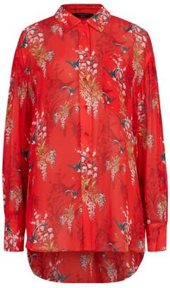 AllSaints Floral Bernie Ambient Shirt