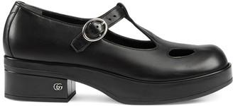 Gucci Mary Jane low-heel shoe