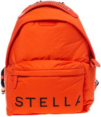 Stella McCartney Logo Printed Backpack