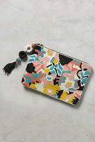Anthropologie Beaded Ikebana Pouch