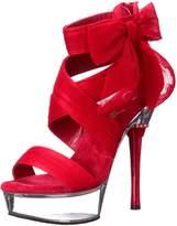 Pleaser USA Women's Allure-664/RCF/C Platform Sandal
