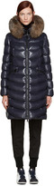 Moncler Navy Down Aphia Coat