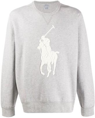 Polo Ralph Lauren Logo Detail Sweater