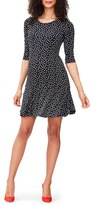 Leota 'Kelsey' Print Drop Waist Maternity Dress