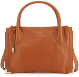 Foley + Corinna Frankie Leather Satchel Bag, Honey Brown`