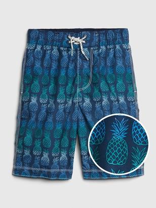 Gap Kids Pineapple Board Shorts