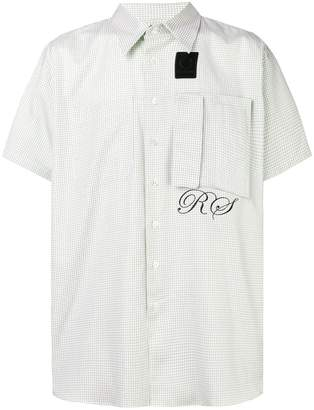 Fred Perry short-sleeved check shirt
