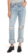 Seven7 Women's 7 For All Mankind Rickie High Waist Boyfriend Jeans