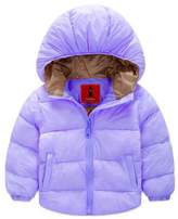 Azyuan Baby Boys' Girls' Winter Puffer Coat Thicken Down Jacket Outwear 6-12M