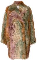 MM6 MAISON MARGIELA faux fur textured coat