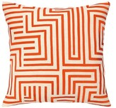 The Well Appointed House Trina Turk Mira Mesa Embroidered Pillow in Red