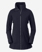 Eddie Bauer Women's Londyn Soft Shell Trench Coat