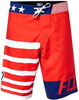 Fox Men's Red White and True Boardshort 8146838