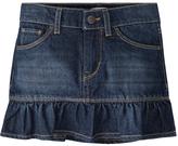 Levi's Blue Asphalt Alessandra Scooter Denim Skirt - Toddler & Girls