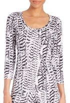 Cosabella Sedona Three-Quarter Sleeve Top