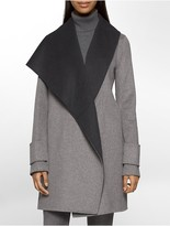 Calvin Klein Double Face Wool Coat