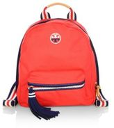 Tory Burch Embroidered Backpack