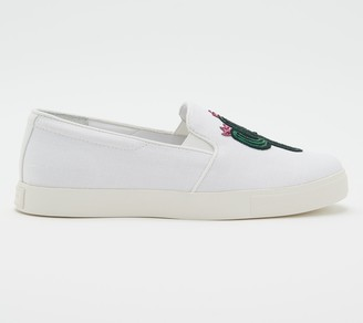 Katy Perry Novelty Canvas Slip-Ons - The Kerry