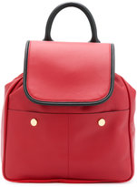 Marni small backpack - women - Calf Leather/Polyamide/Polyester/Brass - One Size