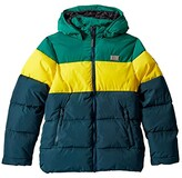 Lego Jacket with Detachable Hood and Mobile Phone Pocket (Toddler/Little Kids/Big Kids) (Dark Green) Kid's Clothing