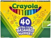Crayola 40 ct Fine Line Ultra-Clean Washable Markers