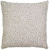 Aura Throw Pillow in Natural/White