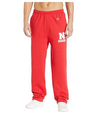 Champion College Nebraska Cornhuskers Powerblend(r) Open Bottom Pants