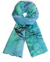Desigual Women's Printed Scarf - Blue -